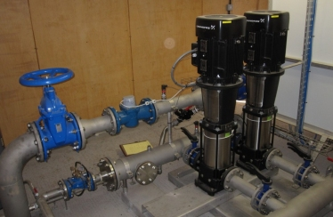 Pump Station with Expansion - UK