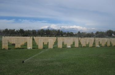 Catania War Cemetery & Mount Etna - CWGC Sicily