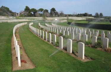 Sangro River War Cemetery - CWGC Italy
