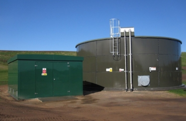 Cruden Bay - Storage Tank & GRP Pump House