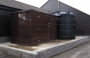 Royal Leamington Spa Bowls - Storage Tank & GRP Pump House