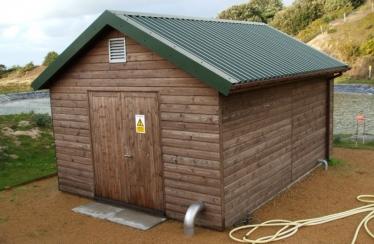 La Moye - Wooden Pump House