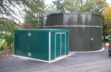 Glasgow Golf Club – Storage Tank & GRP Pump House