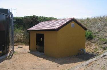Royal Portrush - Concrete Pump House (rendered)
